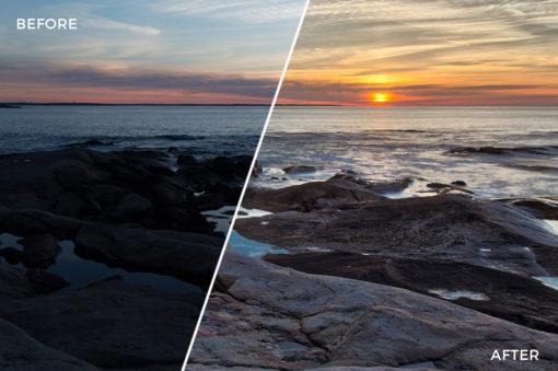 9 Loaded Landscapes Aurora HDR Presets - FilterGrade Digital Marketplace