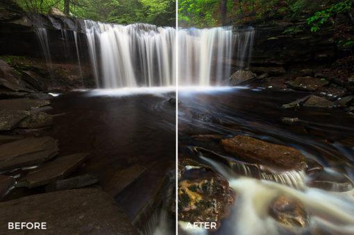8 Loaded Landscapes Aurora HDR Presets - FilterGrade Digital Marketplace