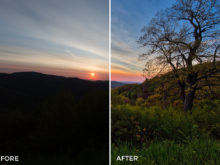 7 Loaded Landscapes Aurora HDR Presets - FilterGrade Digital Marketplace