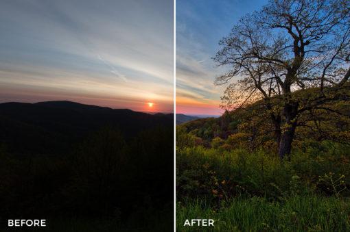 7 Loaded Landscapes Aurora HDR Presets - FilterGrade Digital Marketplace