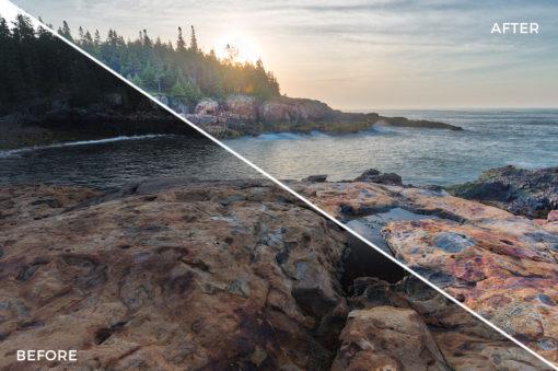 6 Loaded Landscapes Aurora HDR Presets - FilterGrade Digital Marketplace