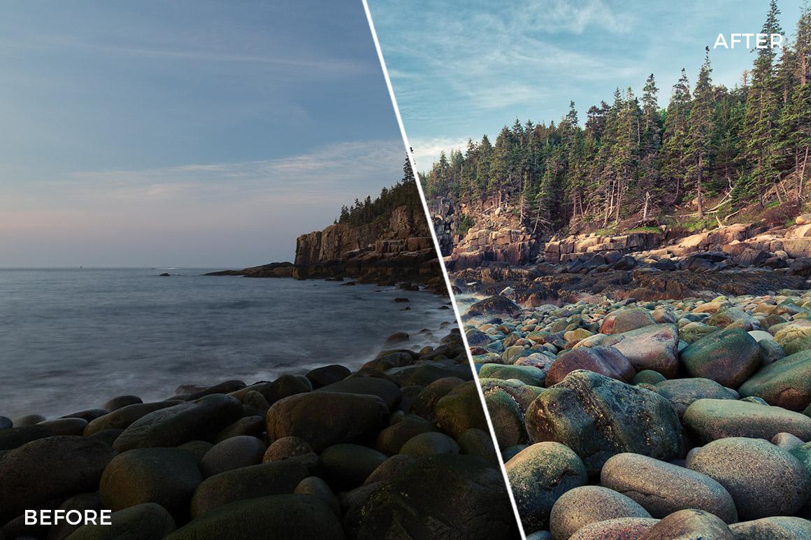 5 Loaded Landscapes Aurora HDR Presets - FilterGrade Digital Marketplace