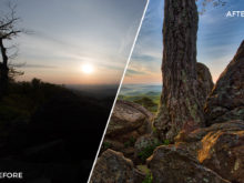 4 Loaded Landscapes Aurora HDR Presets - FilterGrade Digital Marketplace