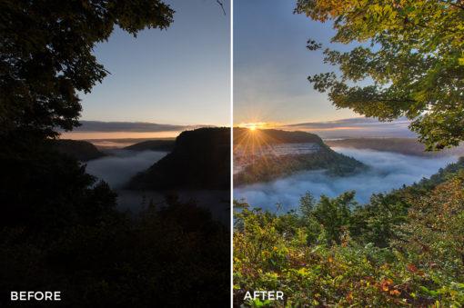 3 Loaded Landscapes Aurora HDR Presets - FilterGrade Digital Marketplace