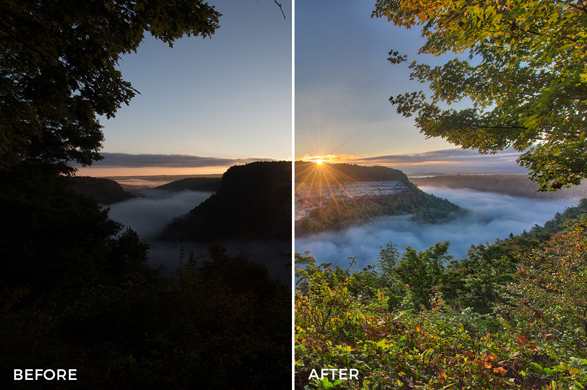 3 Loaded Landscapes Aurora HDR Presets - FilterGrade Digital Marketplace