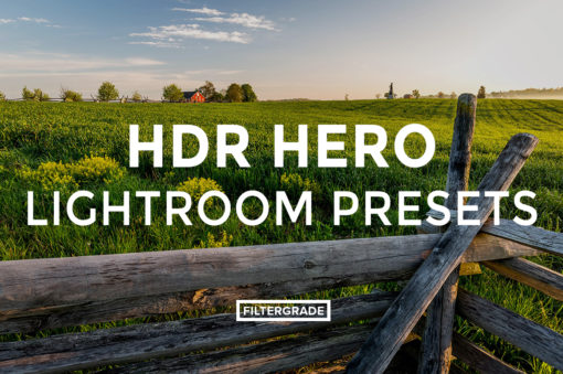Featured HDR Hero Lightroom Presets - Marc Andre Loaded Landscapes - FilterGrade Digital Marketplace
