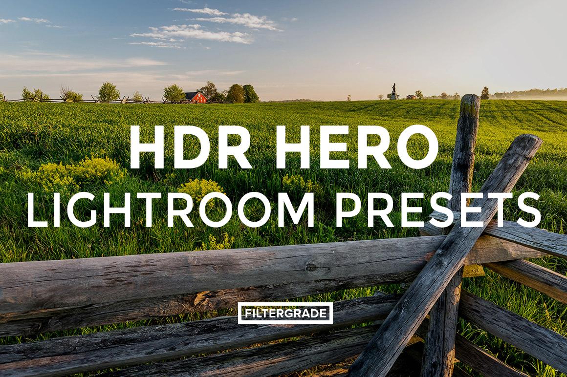 Featured HDR Hero Lightroom Presets - Marc Andre Loaded Landscapes - FilterGrade Digital Marketplace