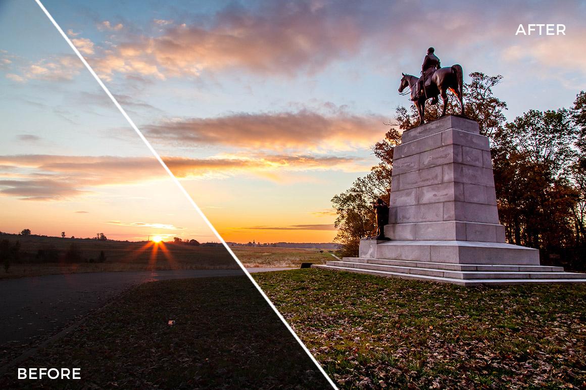 12 HDR Hero Lightroom Presets - Marc Andre Loaded Landscapes - FilterGrade Digital Marketplace