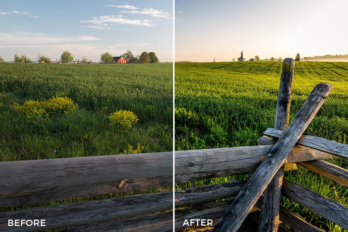 4 HDR Hero Lightroom Presets - Marc Andre Loaded Landscapes - FilterGrade Digital Marketplace