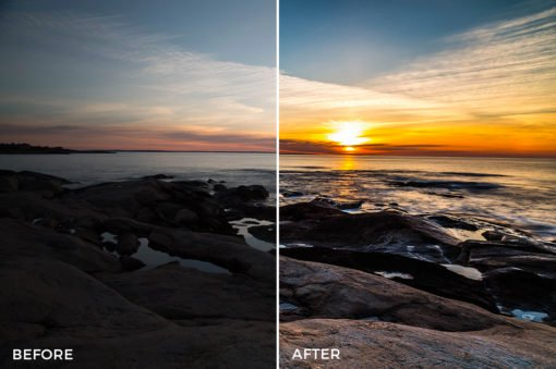 2 HDR Hero Lightroom Presets - Marc Andre Loaded Landscapes - FilterGrade Digital Marketplace