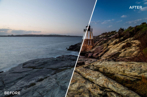 9 Landscape Legends lightroom Presets & Brushes - Marc Andre Photography - FilterGrade Digital Marketplace