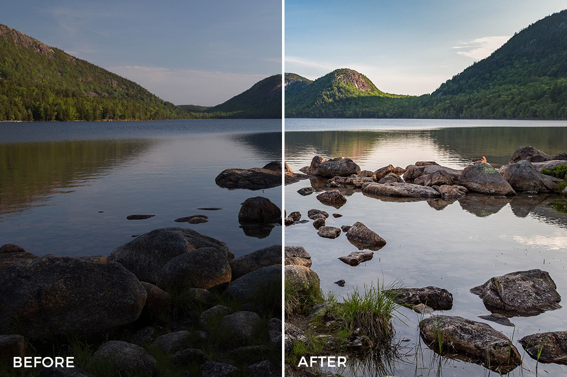 8 Landscape Legends lightroom Presets & Brushes - Marc Andre Photography - FilterGrade Digital Marketplace