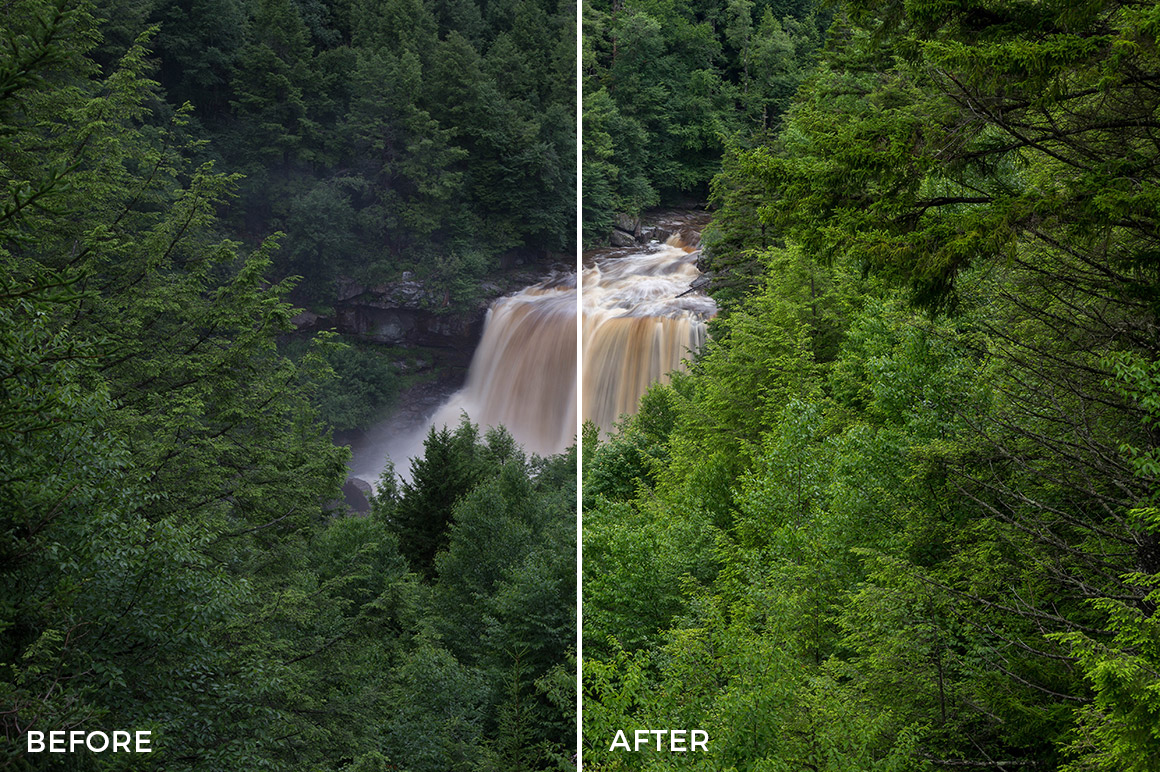 5 Landscape Legends lightroom Presets & Brushes - Marc Andre Photography - FilterGrade Digital Marketplace