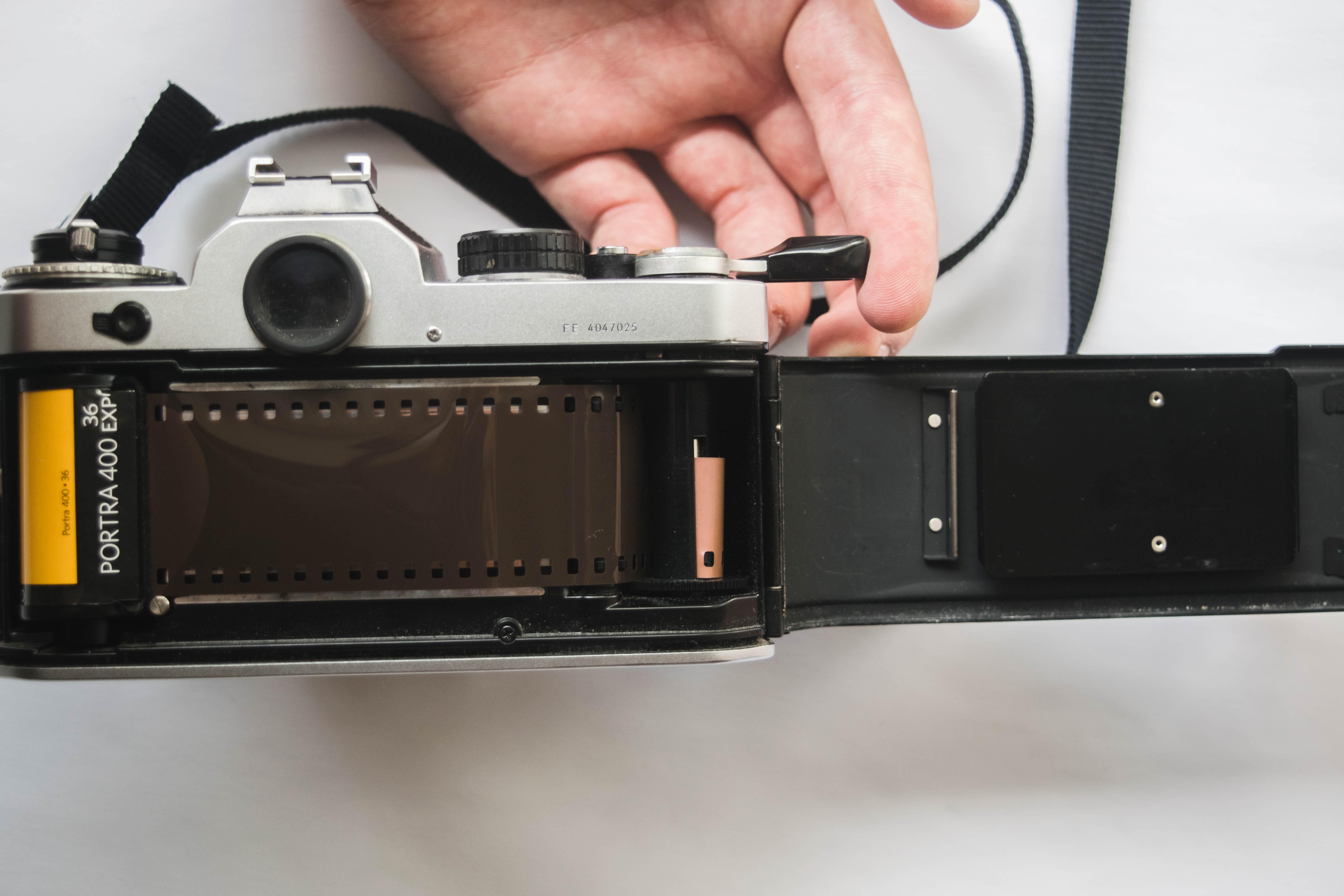 Emulsion Side - How to Load Film into a 35mm Film Camera - FilterGrade Blog