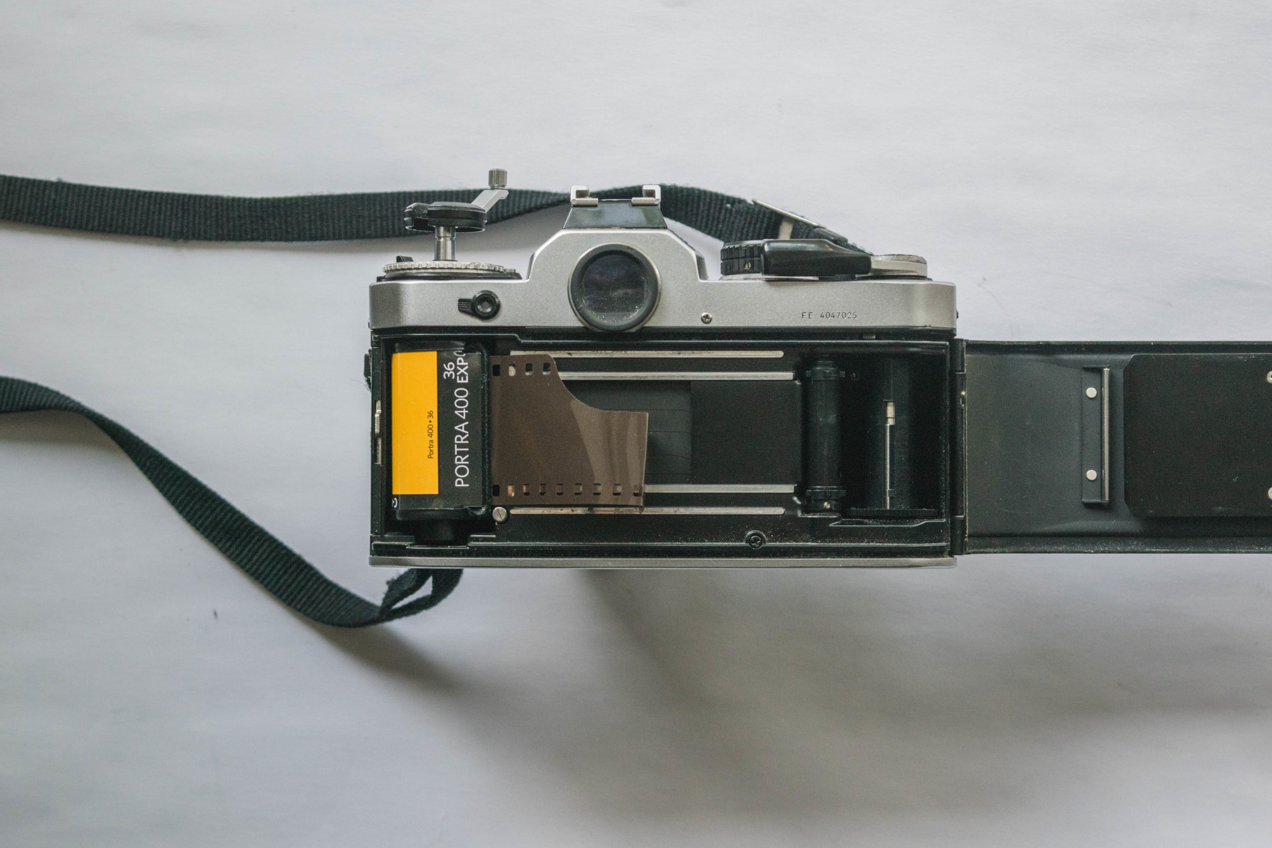 Feed Film - How to Load Film into a 35mm Film Camera - FilterGrade Blog