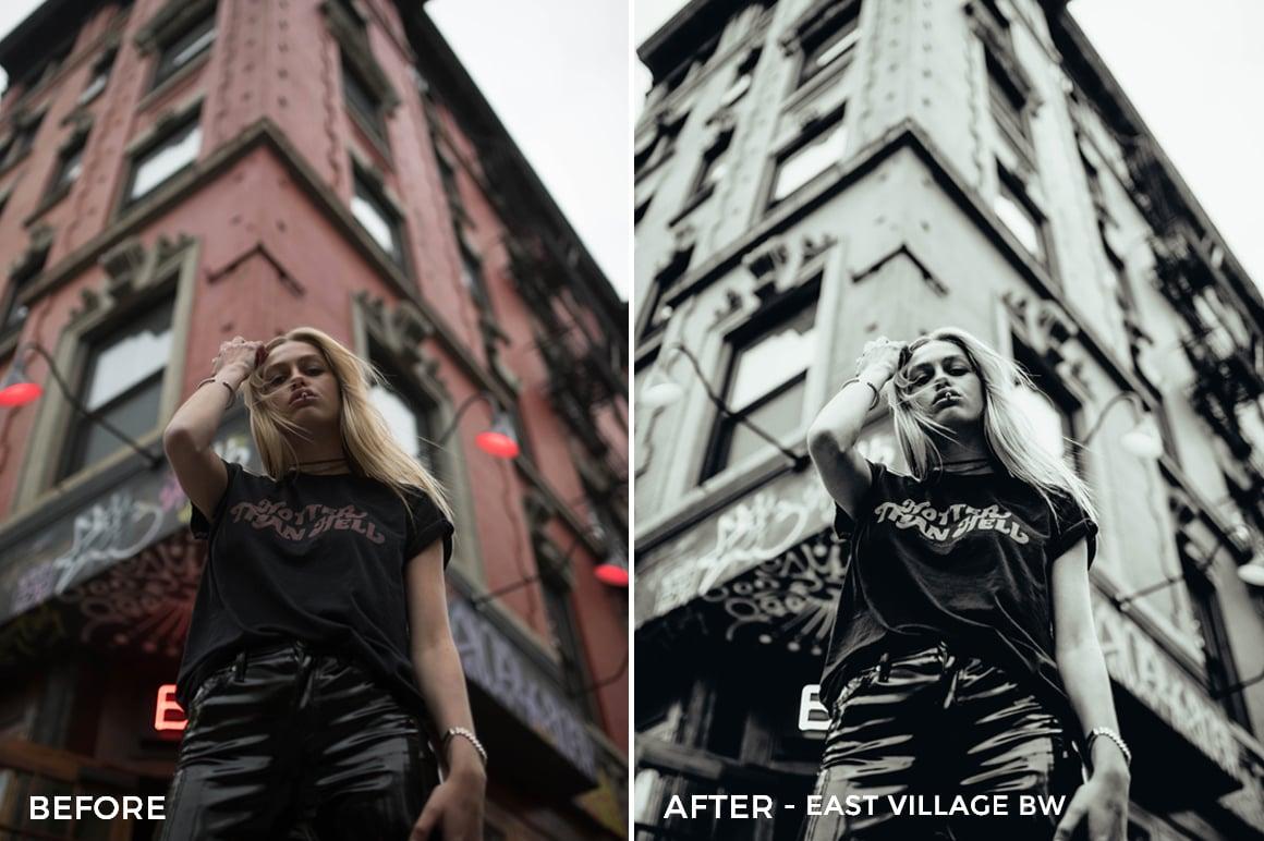 3 East Village BW - Dennis Tejero Lightroom Presets - Dennis Tejero Photography - FilterGrade Digital Marketplace