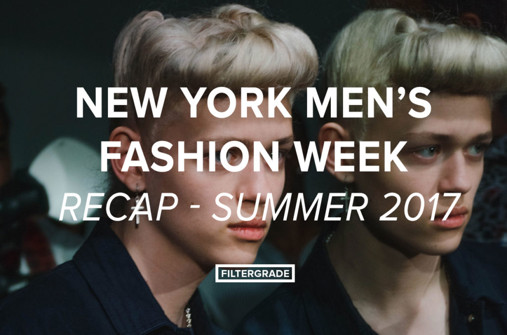 1 Featured - NYFWM Highlights July 217 - FilterGrade Blog