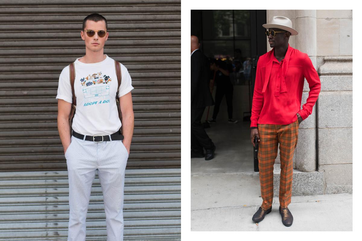 New York Men's Fashion Week 2017 Street Style