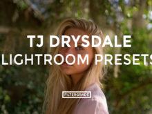 Featured - TJ Drysdale Lightroom Presets - TJ Drysdale Nature & Portrait Photography - FilterGrade Digital Marketplace