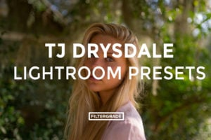Featured - TJ Drysdale Lightroom Presets - TJ Drysdale Nature & Portrait Photography - FilterGrade Digital Marketplace