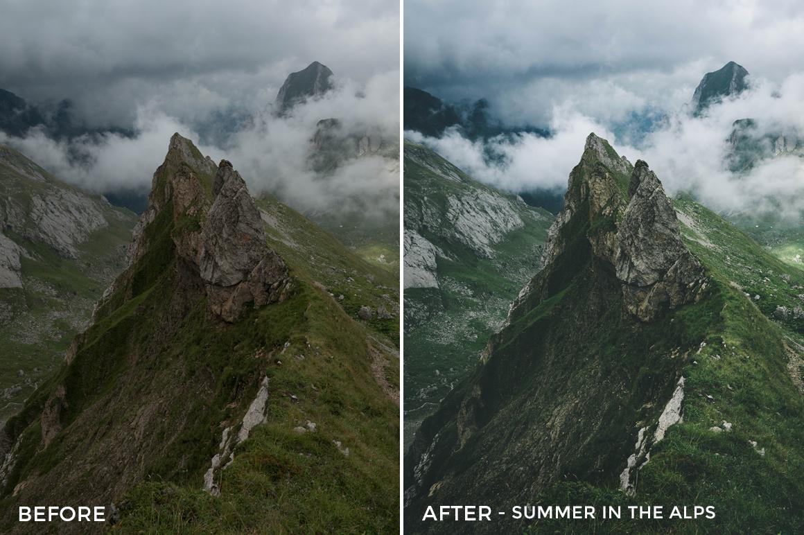 6 Summer in the Alps - Fabio Zingg Lightroom Presets - Fabio Zingg Photography - @thealpinists - FilterGrade Digital Marketplace