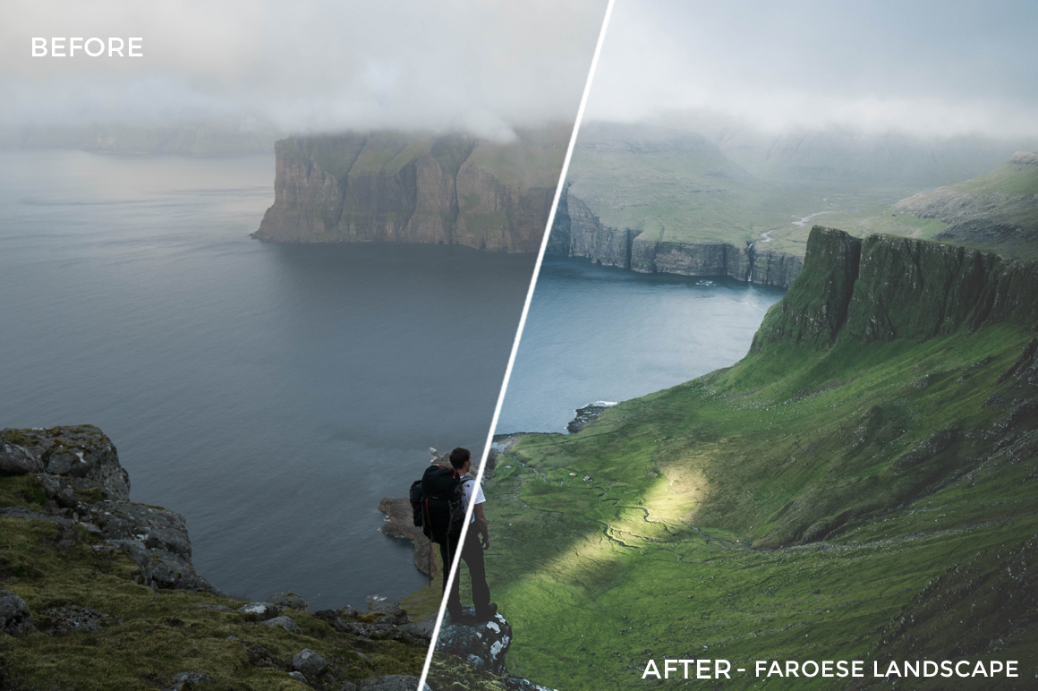 2 Faroese Landscape - Fabio Zingg Lightroom Presets - Fabio Zingg Photography - @thealpinists - FilterGrade Digital Marketplace