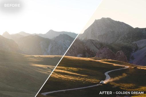 5 Golden Dream - Federico Landra Lightroom Presets - Federico Landra Photography - FilterGrade Digital Marketplace