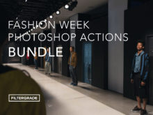 Fashion Week Photoshop Actions Bundle