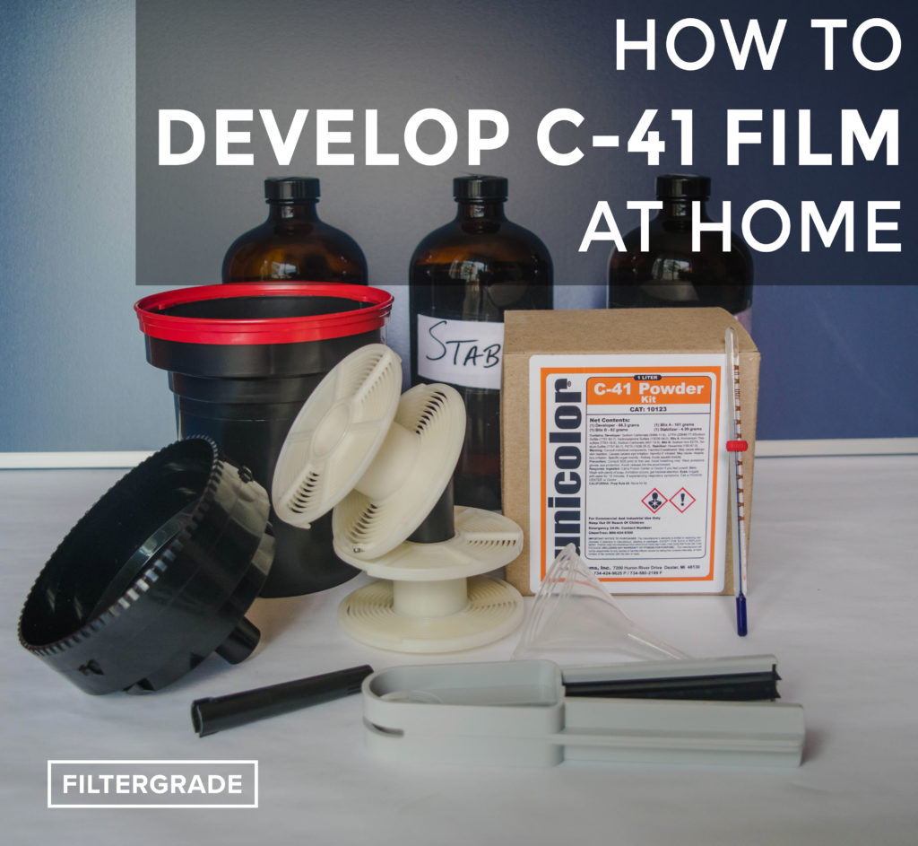 FEATURED - How to Develop C-41 Film at Home - FilterGrade Blog