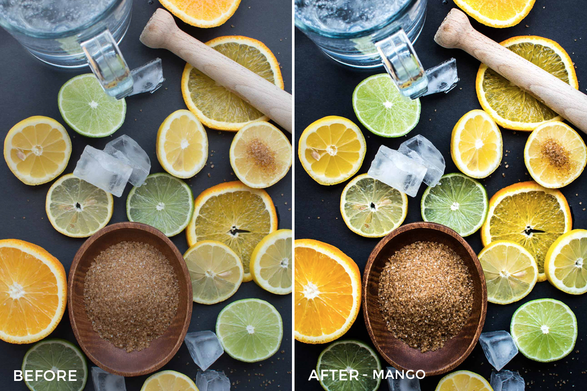7 Mango - Foodies Feed Lightroom Presets - Foodies Feed Blog - FilterGrade Digital Marketplace