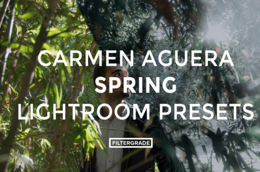 FEATURED - Carmen Aguera Spring Lightroom Presets - FilterGrade Digital Marketplace