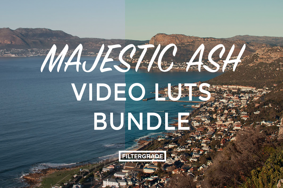 MajesticAsh LUTs Bundle - Ashley Irvin Robertson Videography - FilterGrade Digital Marketplace