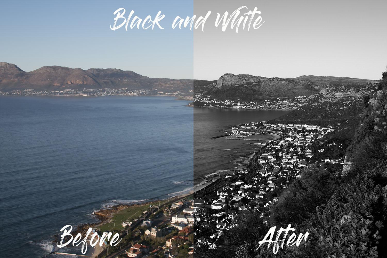 Black and White B4AMajesticAsh LUTs Bundle - Ashley Irvin Robertson Videography - FilterGrade Digital Marketplace