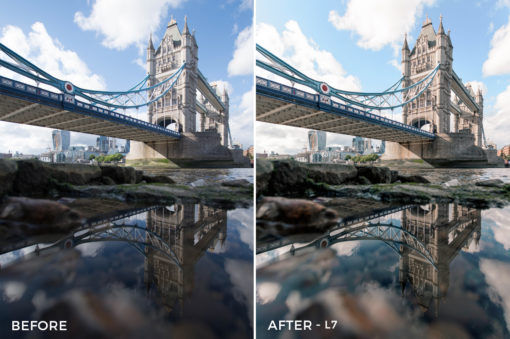7 L7 - Shutter Nomad Landscape Lightroom Presets - Shutter Nomad Photography - FilterGrade Digital Marketplace