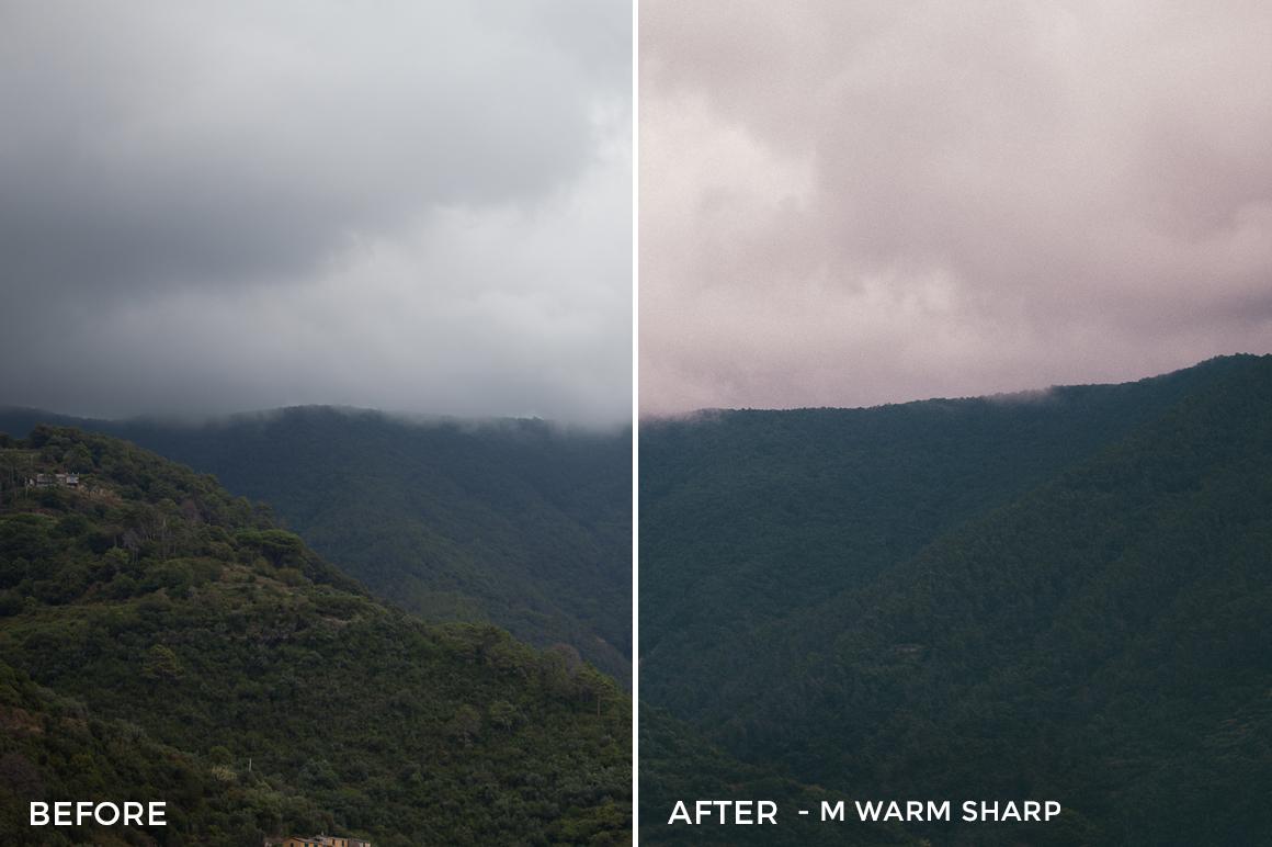 8 M Warm Sharp - Michelle & Neruda Lightroom Presets - FilterGrade Digital Marketplace