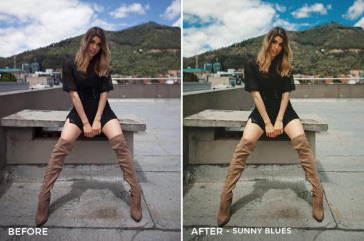 -- Sunny Blues - Gilbert Sosa Lightroom Presets - FilterGrade