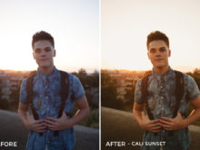 11 Cali Sunset - Gilbert Sosa Lightroom Presets - FilterGrade