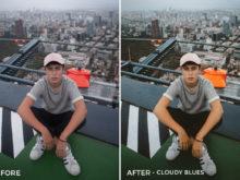 9 Cloudy Blues - Gilbert Sosa Lightroom Presets - FilterGrade
