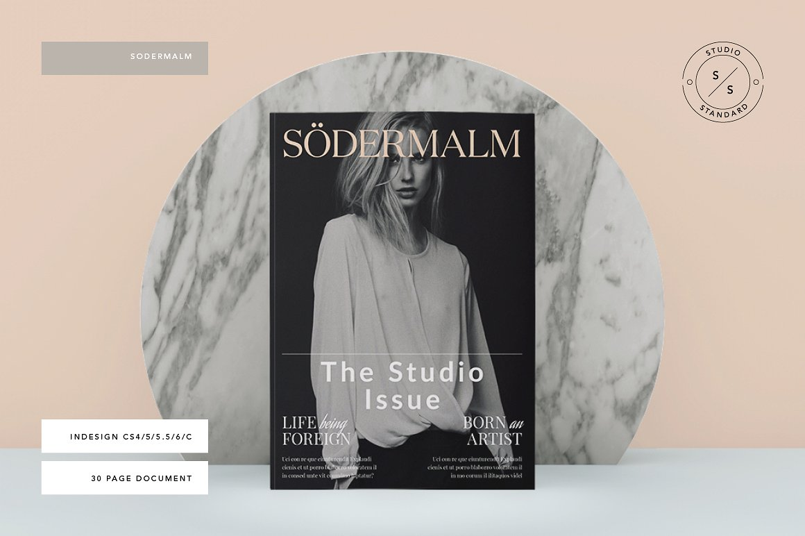 Sodermalm Magazine for photography proposals