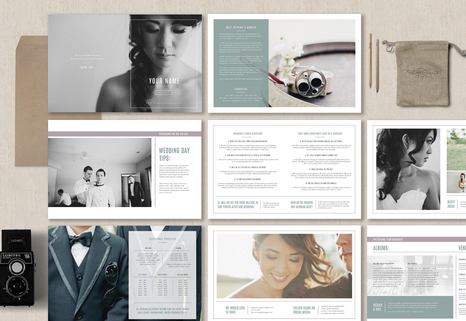 wedding photo template