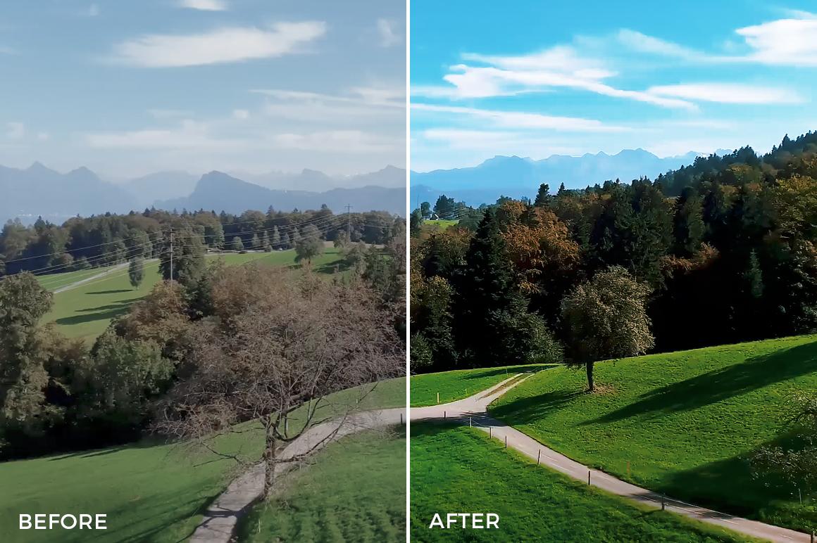17 Mountains - Franco Noviello Drone LUTs - FilterGrade