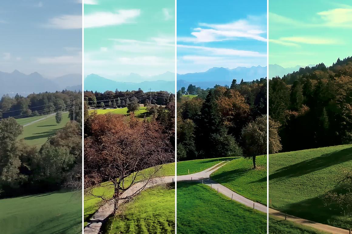15 Mountains - Franco Noviello Drone LUTs - FilterGrade