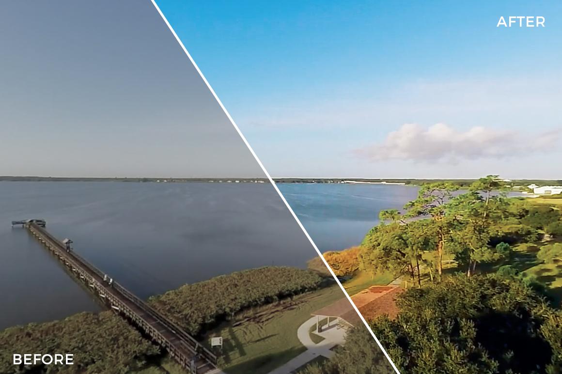 13 Lake - Franco Noviello Drone LUTs - FilterGrade