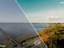 12 Lake - Franco Noviello Drone LUTs - FilterGrade
