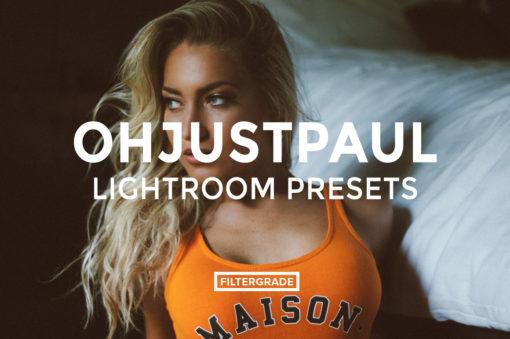 7 Featured - Ohjustpaul Lightroom Presets