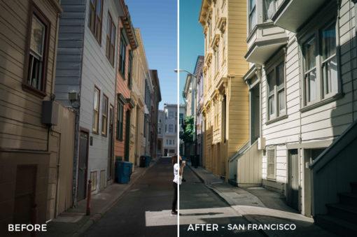 9 San Francisco - Sean Dalton Wanderlust Travel Lightroom Presets - FilterGrade