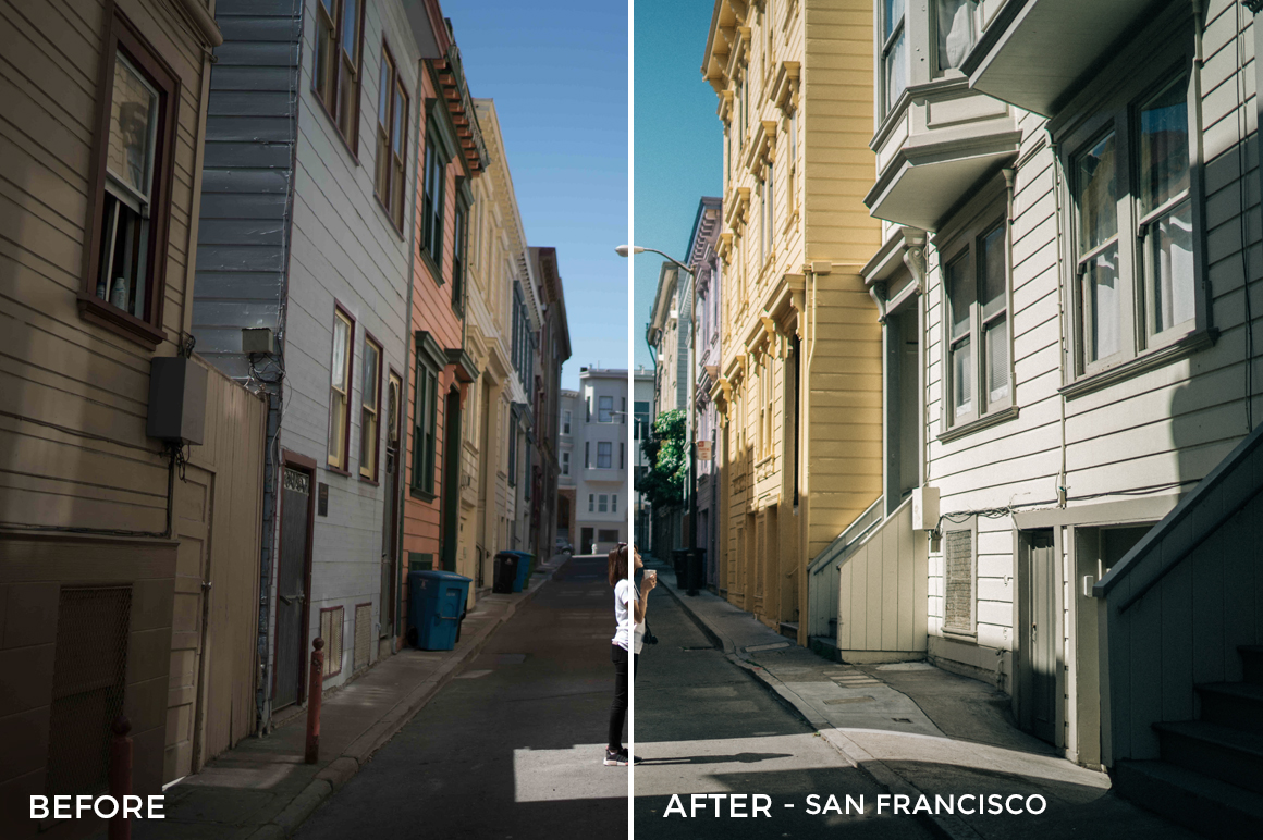 9 San Francisco - Sean Dalton Wanderlust Travel Lightroom Presets - FilterGrade