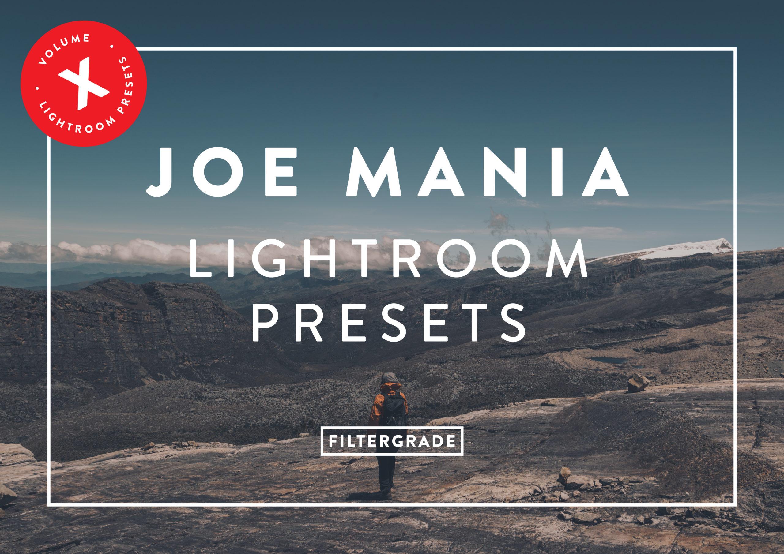 FEATURED - Joe Mania Lightroom Presets Mega Bundle - Joe Mania Photography - FilterGrade Digital Marketplace