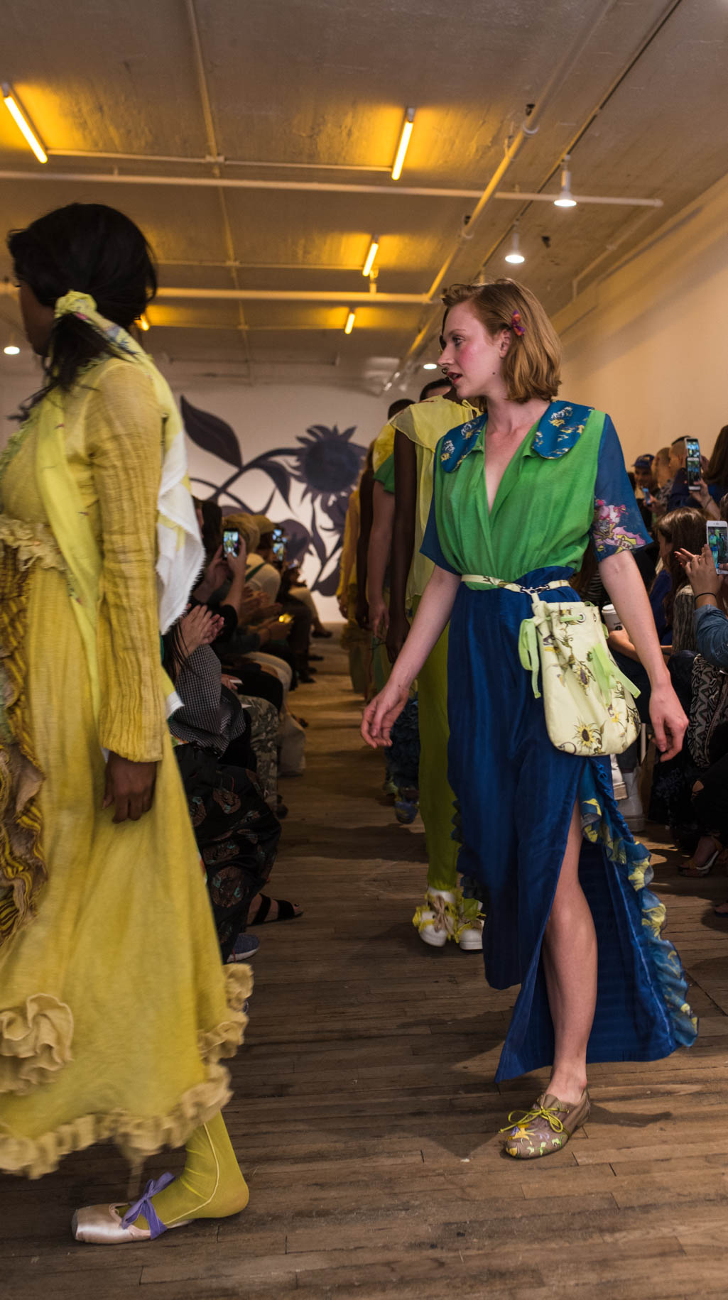 new york fashion week runway models filtergrade