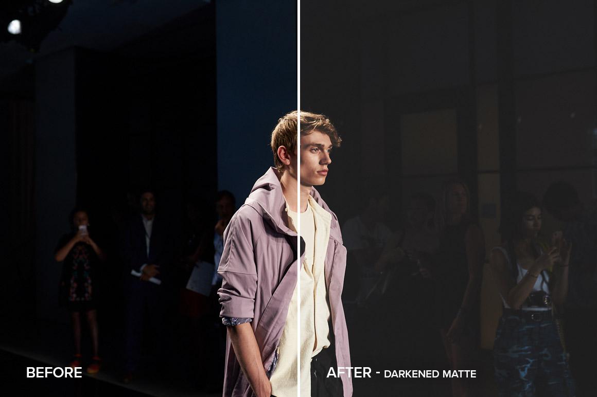 darkened matte collection capture one styles
